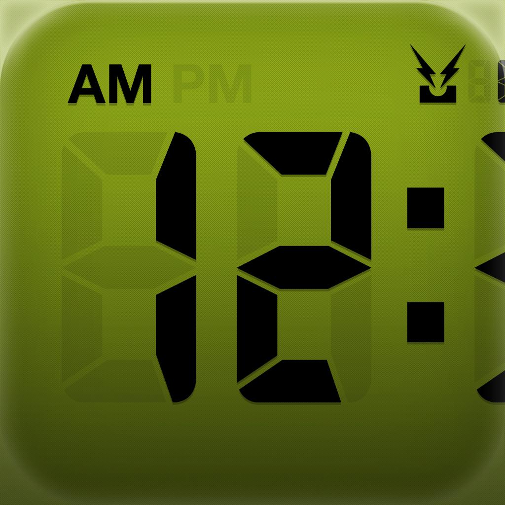 LCD Clock Lite - Clock & Calendar